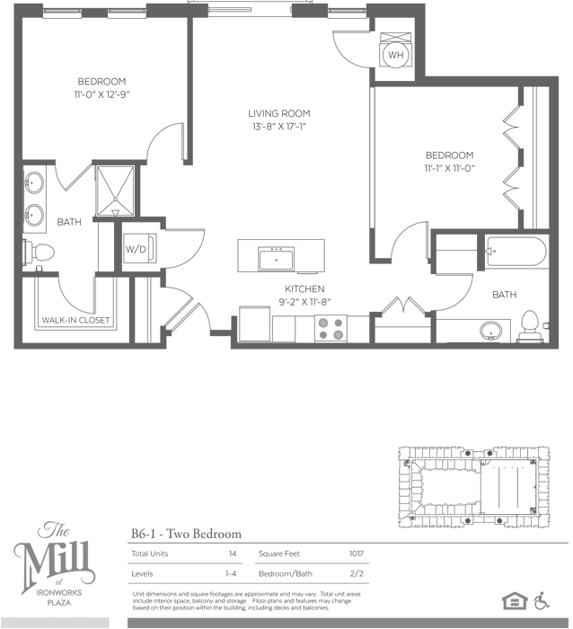 B6-1 Floor Plan Image